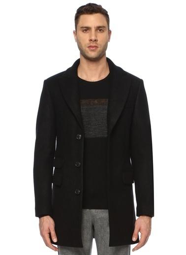 NetWork NetWork 1071437 Slim Fit Siyah Palto Erkek Palto Siyah